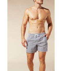 calzedonia men's formentera swim shorts man black size m