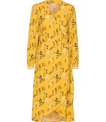 berbel dr jurk knielengte geel part two