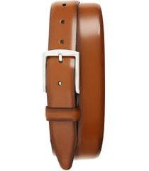men's allen edmonds midland ave. leather belt, size 38 - walnut