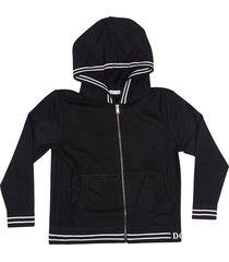 dolce & gabbana zipped hoodie