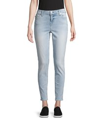 true religion women's logo stretch jeans - blue - size 24 (0)