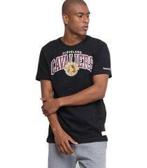 camiseta mitchell & ness nba cleveland cavaliers team arch preto - masculino
