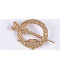 10k gold tara brooch