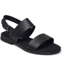 chicago riverside 2 band sandal shoes summer shoes flat sandals svart timberland