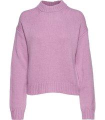 cora sweater stickad tröja rosa filippa k