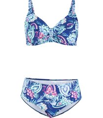 bikini minimizer con ferretto (blu) - bpc bonprix collection