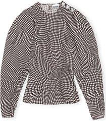 blouse printed