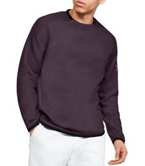 sweater under armour move light crew 1346652-520