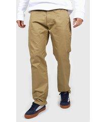 pantalon marrón dc shoes worker 5 pocket