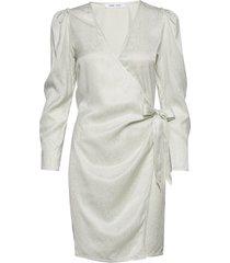 magnhild short dress 12733 jurk knielengte wit samsøe & samsøe