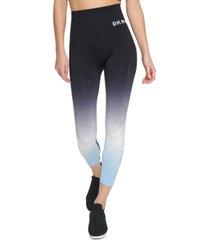 dkny sport dip-dyed leggings