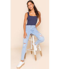 women's levi's® 710 super skinny jeans in denim by francesca's - size: 30