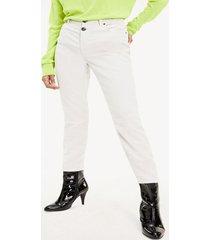 pantalon terciopelo blanco tommy hilfiger