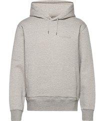 chip pocket hoodie hoodie trui grijs j. lindeberg