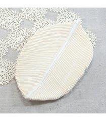 piórko - mydelniczka ceramiczna