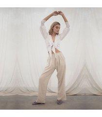 pantalon beige para mujer fatima pantalon fatima beige-s