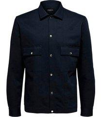 skjorta slhloosebenji shirt jacket ls