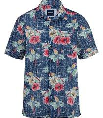 skjorta babista blå::flerfärgad