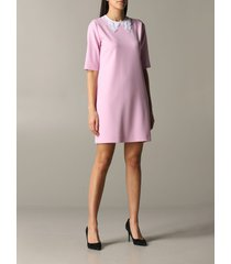 boutique moschino dress boutique moschino dress with embroidered collar
