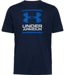 ua gl foundation ss t t-shirts short-sleeved blå under armour