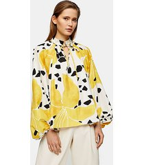 *lily print smock top by topshop boutique - multi