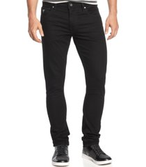 guess men's jailbreak-wash skinny fit stretch jeans
