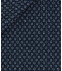 giacca da uomo su misura, tessitura di quaregna, blu macro dots, quattro stagioni | lanieri