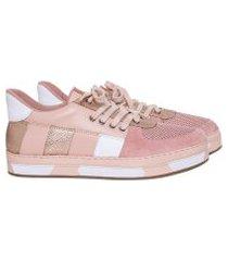 lez a lez - tênis com cadarço rosa persefone