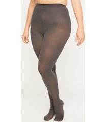 opaque non-control top tights