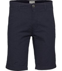 bs tulum slim shorts chinos shorts blå bruun & stengade