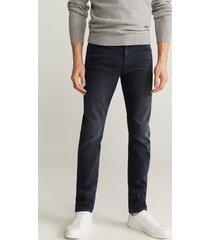 marineblauwe patrick slim-fit jeans