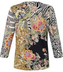 shirt 3/4-mouwen van emilia lay multicolour