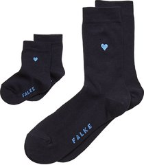 mini-me set lingerie hosiery socks blå falke women