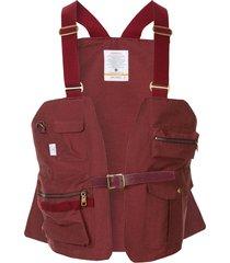 as2ov shrink camp vest - red