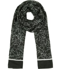 rebecca minkoff women's scattered vine long scarf