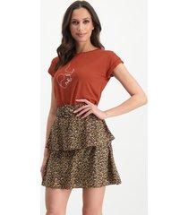 lofty manner mo62 t-shirt tee zoe brown -