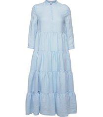 abito mod.h601 maxiklänning festklänning blå aspesi