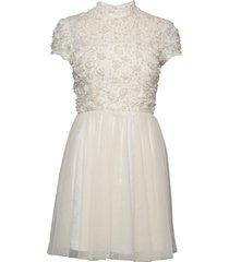 sandy dress kort klänning vit ida sjöstedt