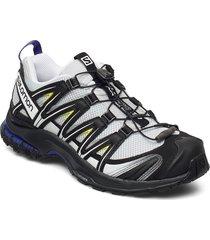 xa pro 3d pearl blue/black/evening primr shoes sport shoes outdoor/hiking shoes zwart salomon