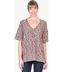 lilla p v-neck tunic sweater