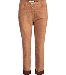 c vegan leather trousers straight/regular brun please jeans