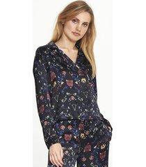 alix the label alix 195943280 ladies woven multi colour satin blouse