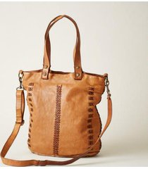 sundance catalog women's byways tote in tobacco