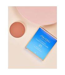 amaro feminino shiseido protetor solar facial compacto fps35 refil uv protective compact foundation - 12g, dark beige