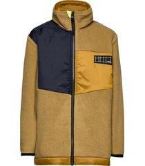 urbain outerwear fleece outerwear fleece jackets bruin molo