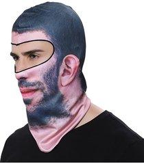 cappuccio antivento anti-uv del cappello della maschera di protezione anti-uv del motociclo degli uomini all'aperto che guida i cappucci antivento del cappuccio