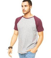 camiseta raglan di nuevo masculina - masculino