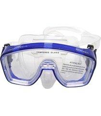 máscara de mergulho nautika rocket com protetor nasal