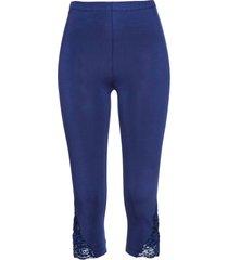 leggings capri (blu) - bpc selection