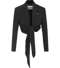 off-white blazer
